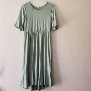 Reborn J Dresses - .Reborn J//Boutique Midi Dress Poly spandex,